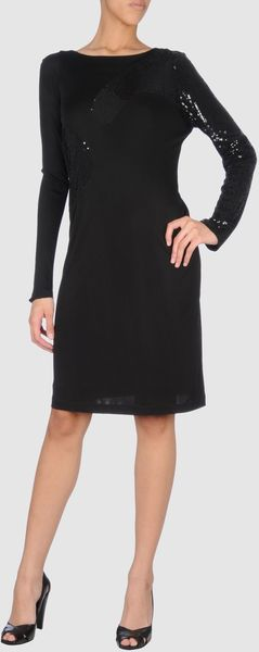 Behnaz Sarafpour 3/4 Length Dress - Lyst