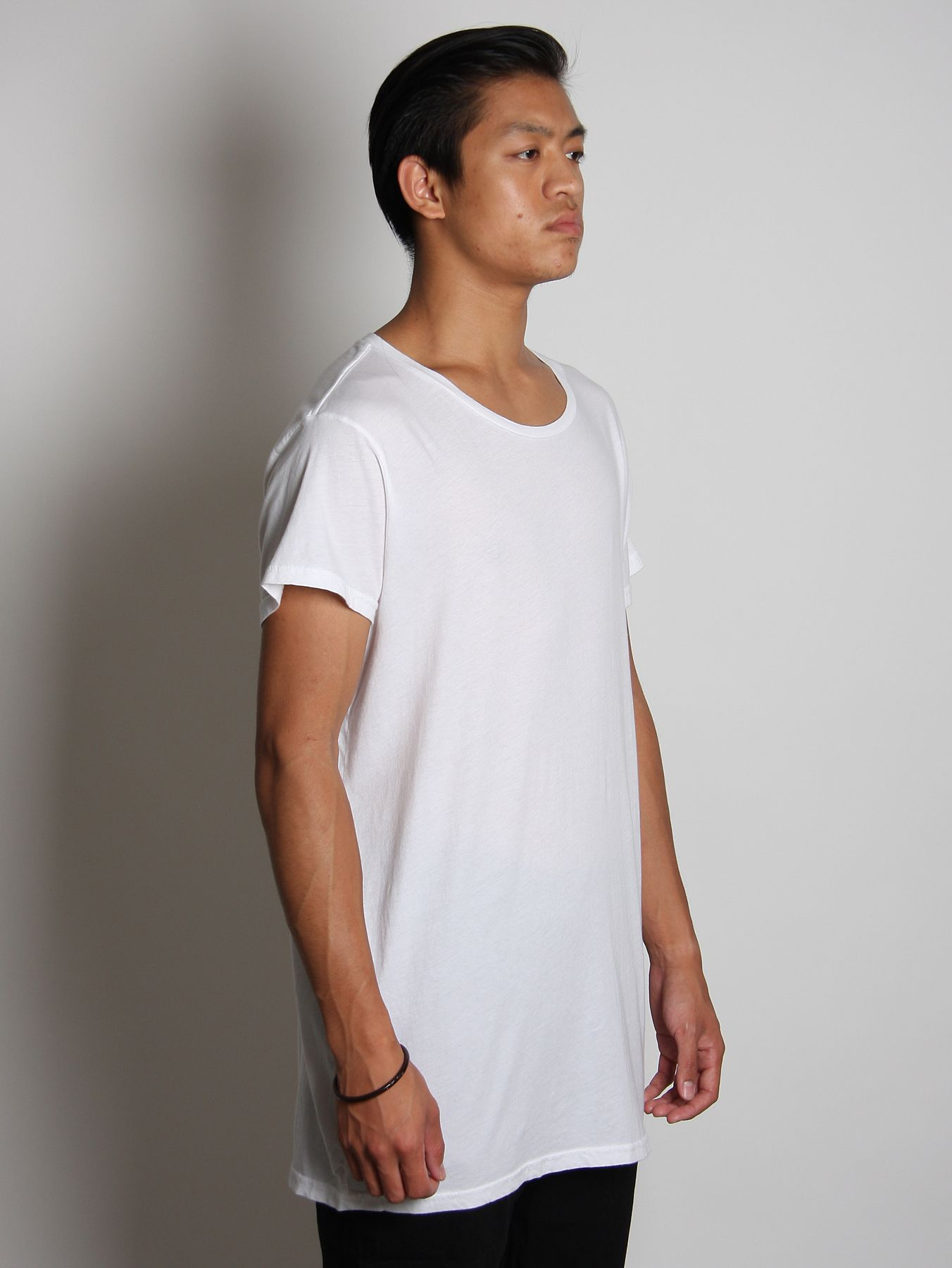 rxmance mens basic oversized t shirt in white for men lyst. Black Bedroom Furniture Sets. Home Design Ideas