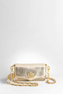 Tory Burch Metallic Mini Bag - Lyst