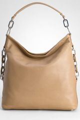 Tory Burch Washed Leather Kiliaen Hobo - Lyst