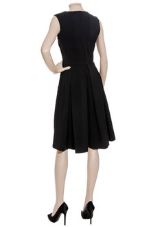 Osman Yousefzada Black Full Skirt Dress - Lyst