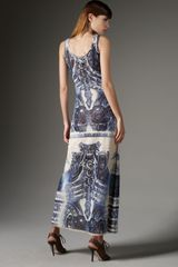 Jean Paul Gaultier Tattoo-print Maxi Tank Dress - Lyst
