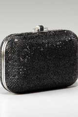 Judith Leiber Beaded Slide-lock Clutch - Lyst