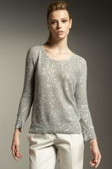 Stella McCartney Sequined Pullover - Lyst