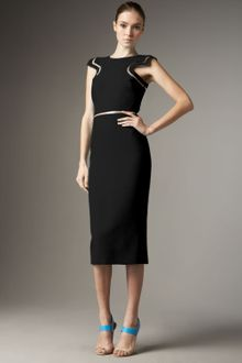 Versace Inset Dress - Lyst