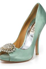 Badgley Mischka Lissa Evening Pumps - Lyst
