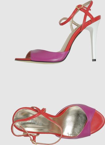 Obeline High-heeled Sandals - Lyst