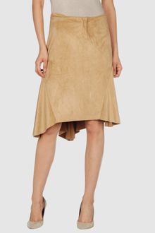 Guess Knee Length Skirt - Lyst
