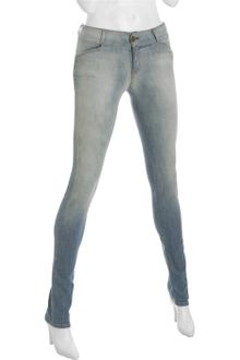 Current/Elliott Lightweight Fade Stretch The Legging Skinny Jeans - Lyst