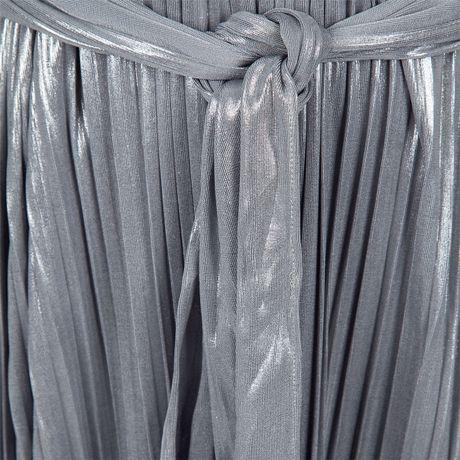 Halston Heritage Dress on Dresses Halston Heritage Dresses Halston Heritage Silver Pleat Detail
