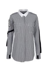 Balmain Striped Shirt - Lyst