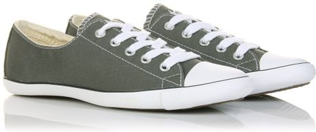 Converse Chuck Taylor All Star Light in Gray (charcoal) - Lyst