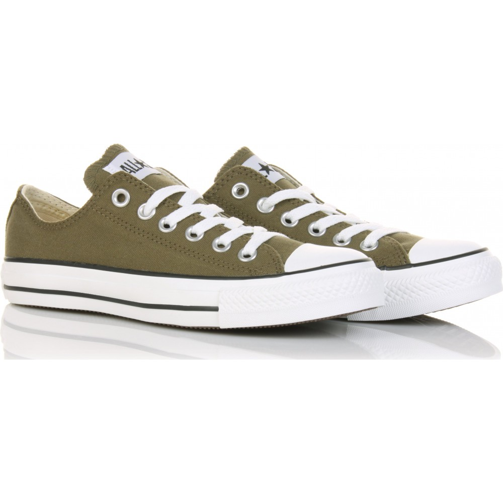 Converse Chuck Taylor All Star Low in Green (olive)