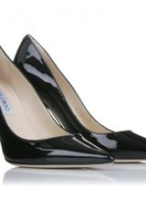 Jimmy Choo Lilac Patent Pumps in Black - Lyst