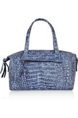Nancy Gonzalez Crocodile Mini Duffle Bag - Lyst