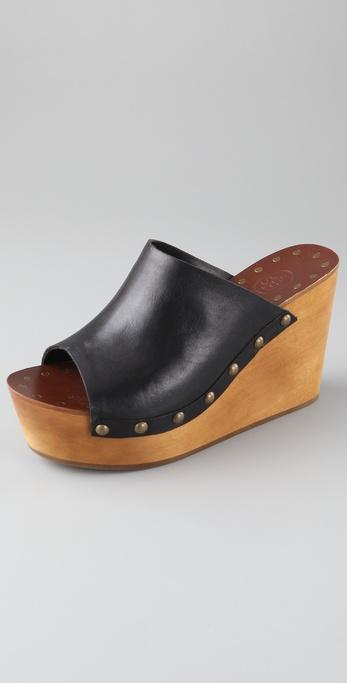 Ash Venus Wedge Slide Sandals In Black Lyst