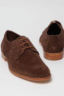 Folk Shoes Suede Finlay Shoe - Lyst