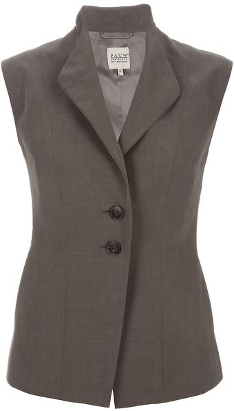 Pauw Sleeveless Button Up Vest - Lyst