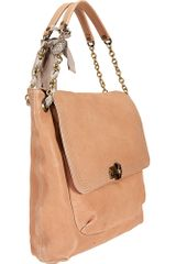 Lanvin Happy Shoulder Bag in Beige - Lyst
