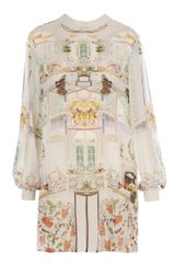 Mary Katrantzou Serendipity Print Silk Dress - Lyst