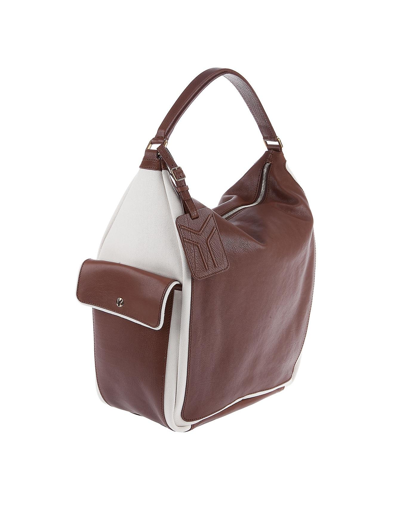 Saint laurent Multi Bag in Brown   Lyst