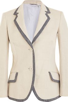 Barneys New York Tailored Blazer - Lyst