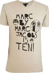 Marc By Marc Jacobs Marc Jacobs 10th Anniversary Tee - Lyst