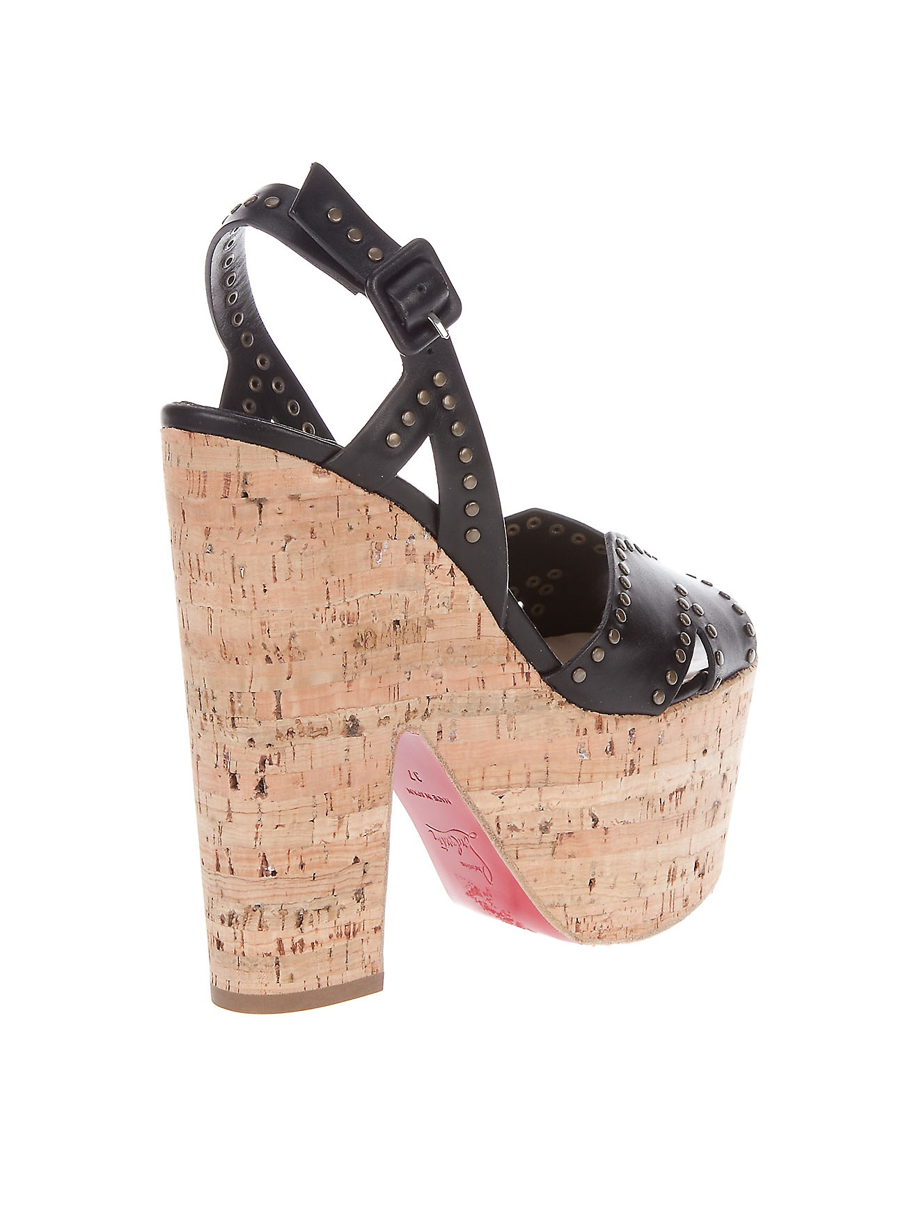 christian louboutin replicas - christian louboutin cork platform sandals - Bavilon Salon