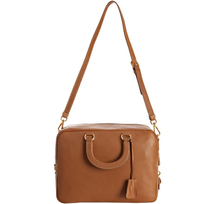 how much do prada purses cost - Prada Caramel Leather Vitello Daino Top Handle Bag in Brown ...