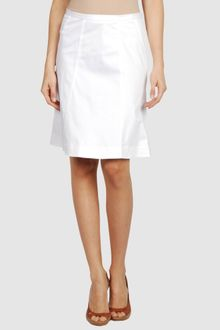 Armani Jeans Knee Length Skirt - Lyst
