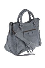Balenciaga Velo Bag in Gray (grey) - Lyst