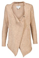 Brochu Walker Draped Cardigan - Lyst