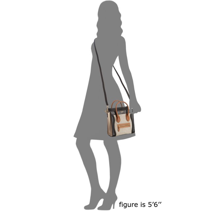 celine luggage patent leather bag