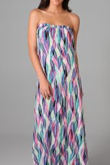 Daughters Of The Revolution Column Long Dress - Lyst