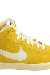 Nike Dunk High Ac Vintage Qs Varsity Maize Sail - Lyst