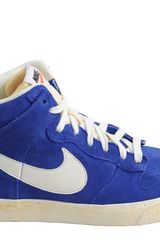 Nike Dunk High Ac Vintage Qs Varsity Royal Sail - Lyst