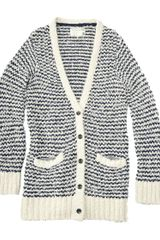 Rag & Bone Terry Cardigan - Lyst