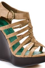 Michael Antonio Gillespie Wedge - Tan Pu - Lyst