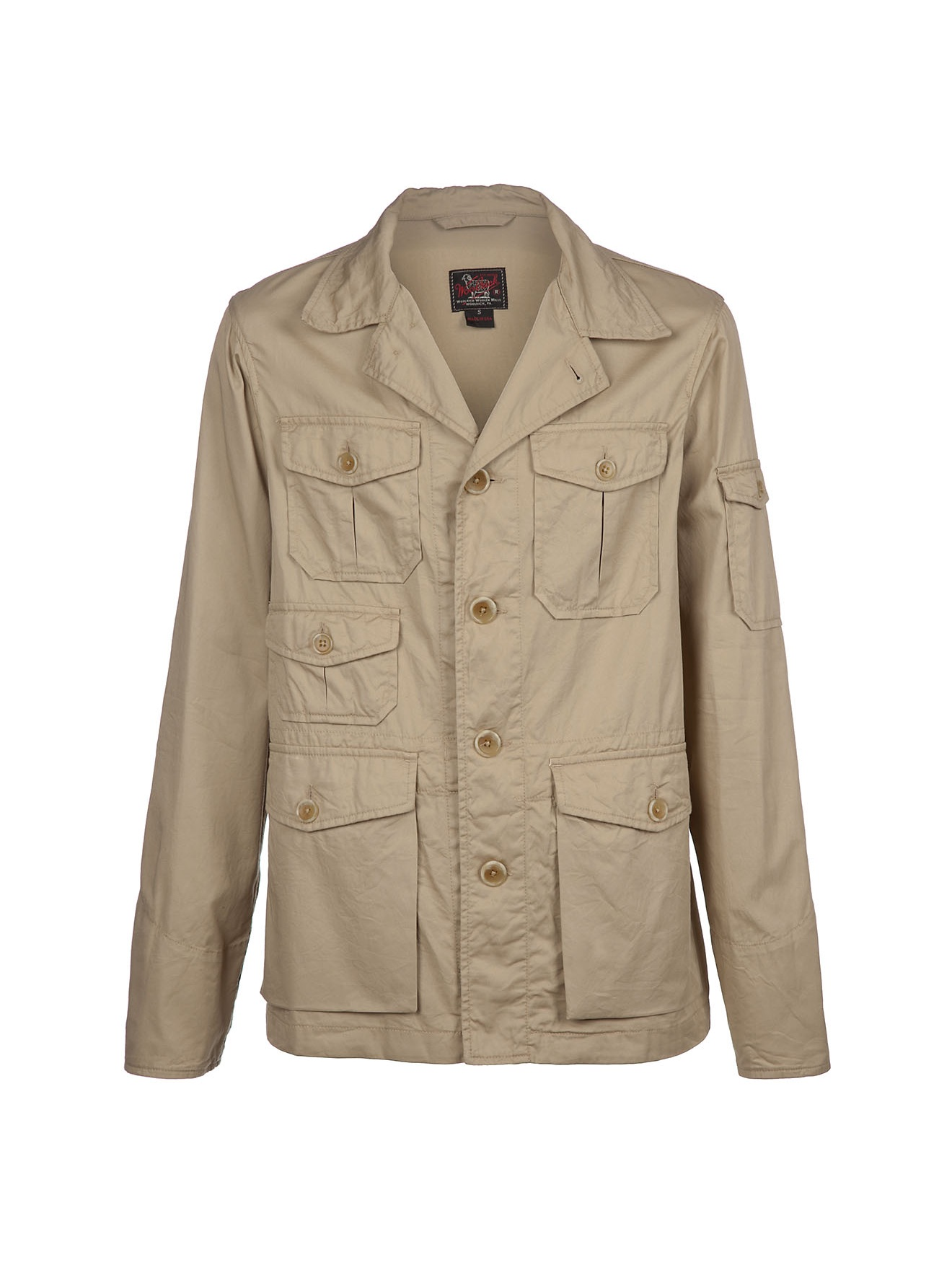 woolrich safari jacket in beige for men lyst. Black Bedroom Furniture Sets. Home Design Ideas