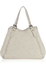 Bottega Veneta Intrecciato Leather Tote - Lyst