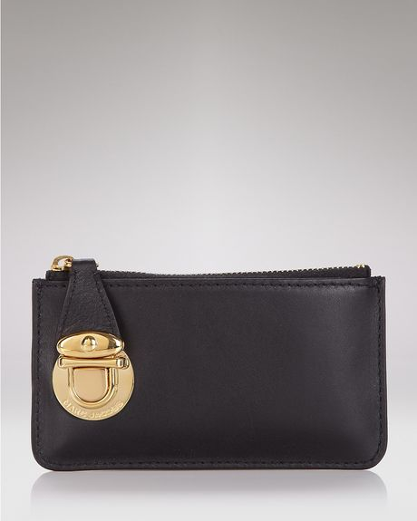 Marc Jacobs Classic Key Pouch in Black - Lyst
