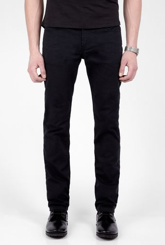 Levi's One Rinse Black 511 Slim Jeans - Lyst