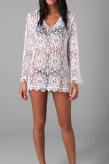 Nightcap Crochet Cover Up - Lyst