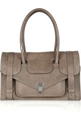 Proenza Schouler Ps1 Keep All Small Leather Bag - Lyst