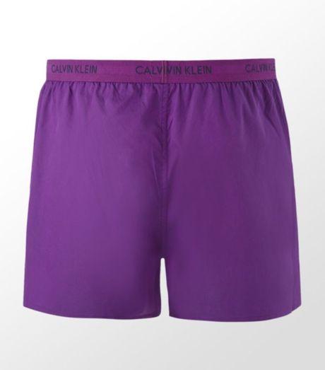 calvin klein woven boxer short in purple for men lyst. Black Bedroom Furniture Sets. Home Design Ideas
