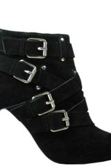 Diavolina Womens Urge Boot Black in Black - Lyst