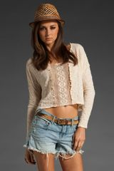 Free People Gibson Girl Lace Pullover - Lyst