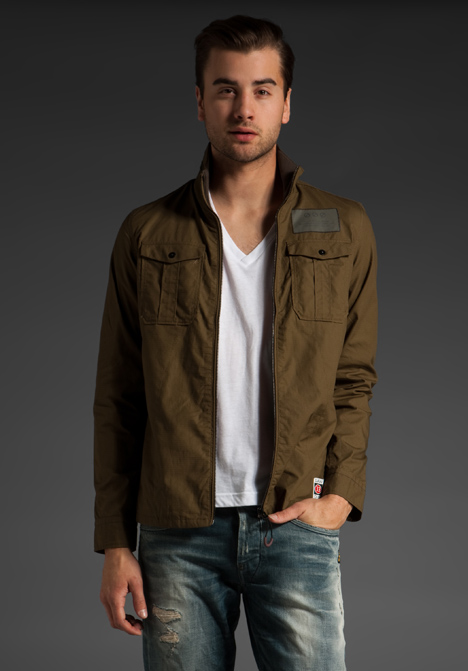 g star raw ranger jacket in green for men olive lyst. Black Bedroom Furniture Sets. Home Design Ideas