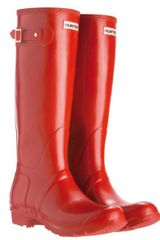 Hunter Womens Original Tall Wellington Boots - Lyst