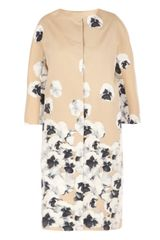 Maxmara Pianoforte Pansy Printed Coat - Lyst